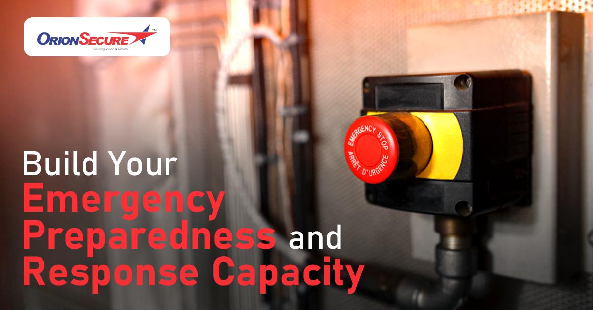 Build Your Emergency Preparedness and Response Capacity